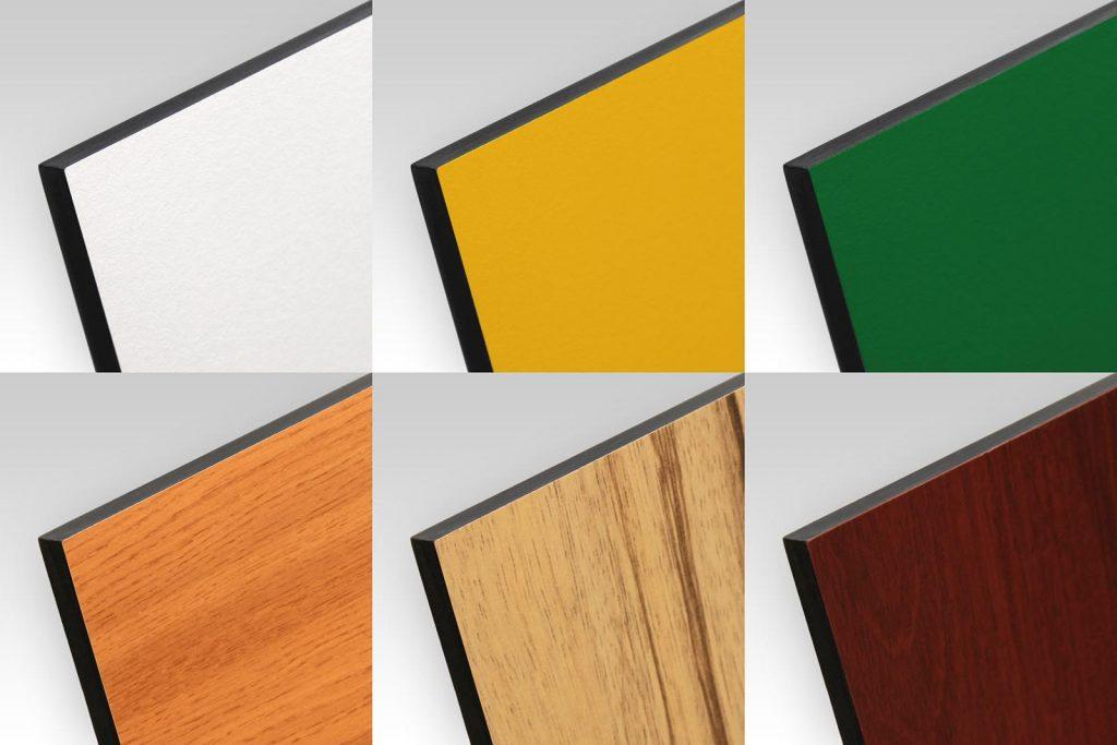 Panneaux bois HPL compact à la découpe