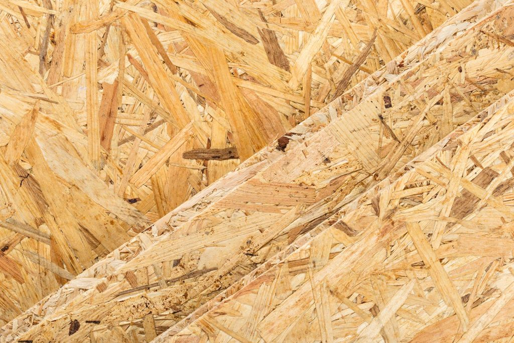 Panneaux bois OSB à la découpe